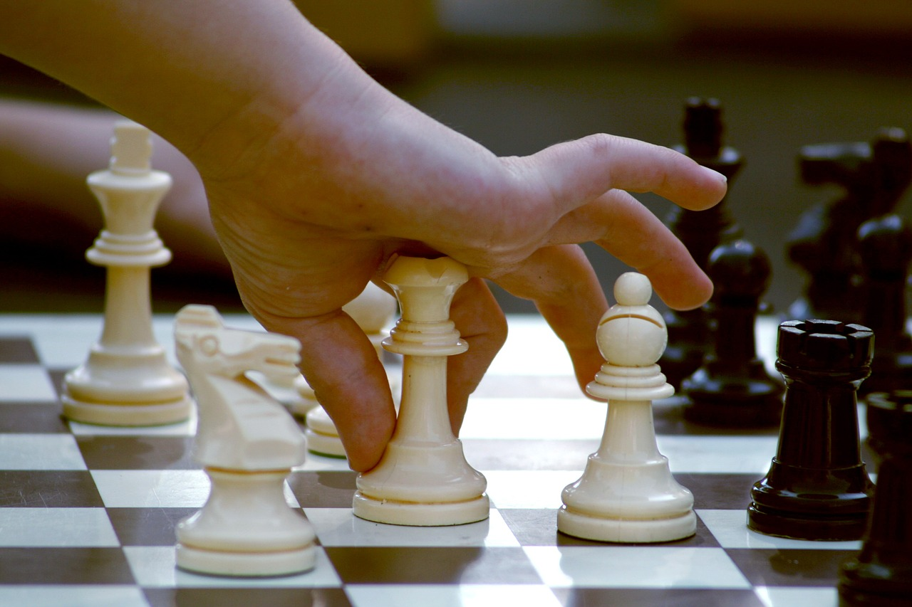 chess, game, strategy